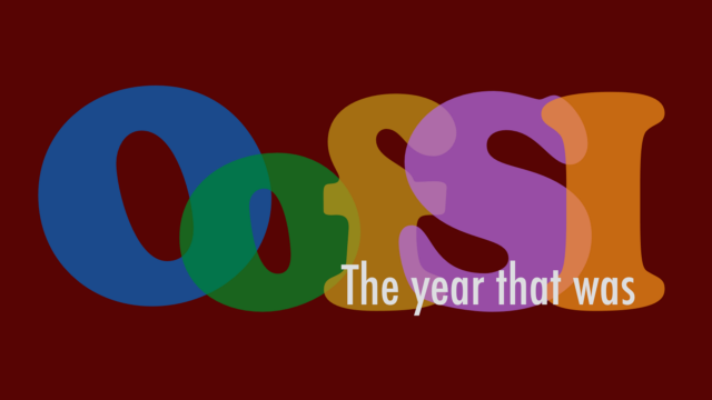 OofSI: the year that was