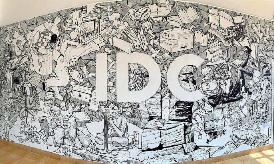 An amazing mural created for the Jubilee