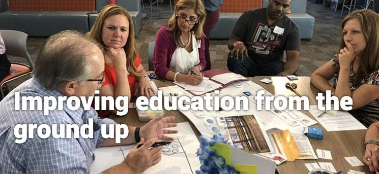 Improving education from the ground up