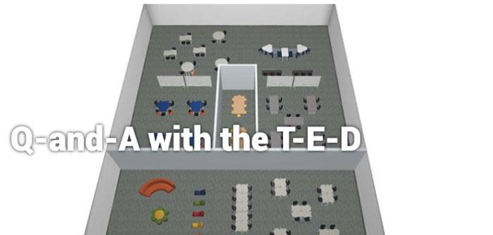 Q and A with T-E-D
