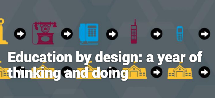 Education by design banner